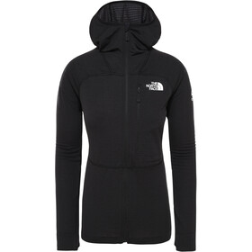 The North Face L2 Power Grid Light Hoodie Jacket Dame TNF Black